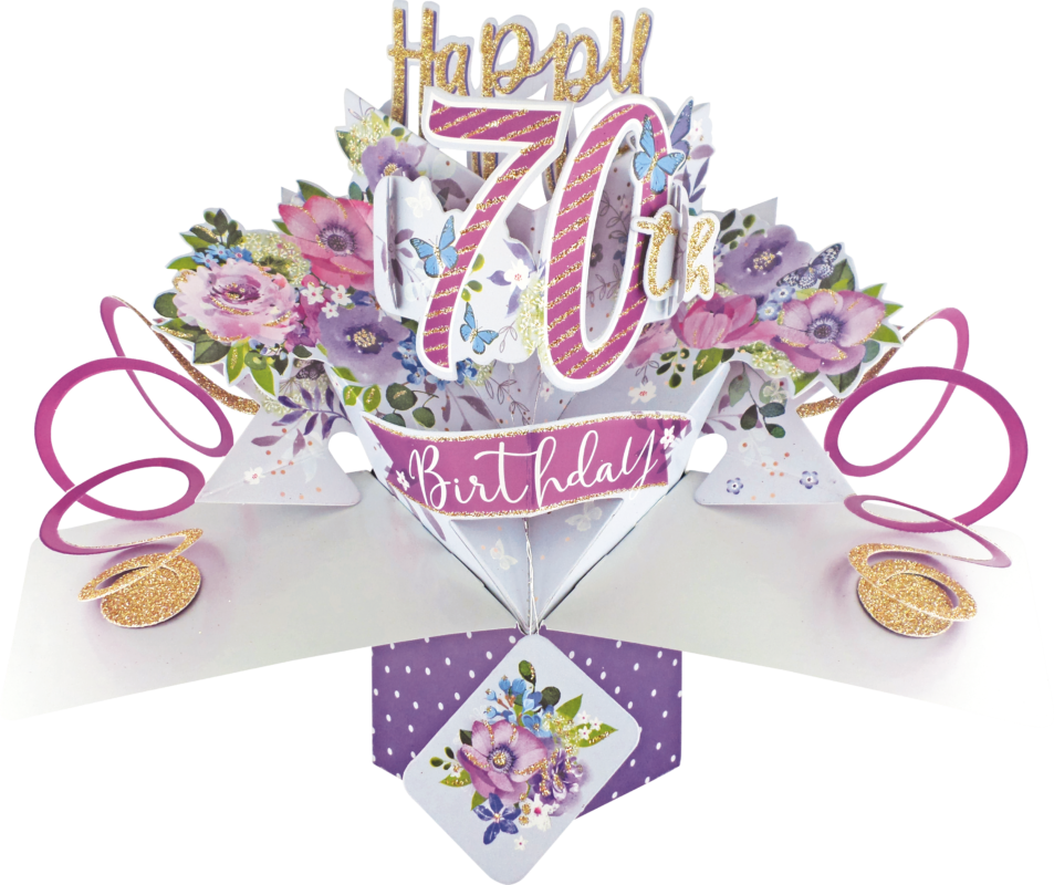 Birthday Card For Her Floral Birthday Card Female Birthday Card Friend Birthday Card
